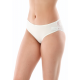 Женские слипы с кружевом SL1002, цвет белый