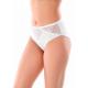 Женские трусы с кружевными вставками SL4003, цвет белый